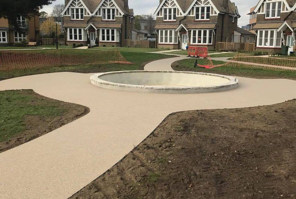 The Benefits of a Resin Bound Pathway