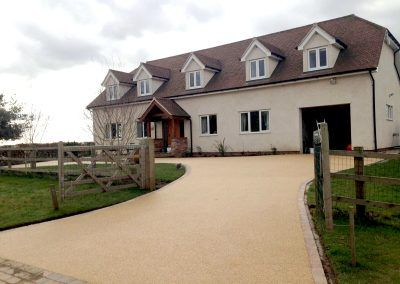 After Resin Driveway