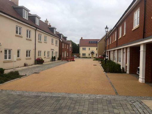 Housing Development in Long Melford, Suffolk