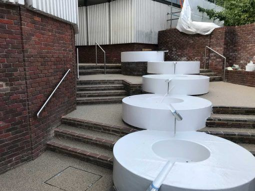 Resin Water Feature Surrounds, Surrey