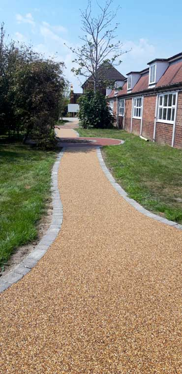 Resin Pathways in great yarmouth