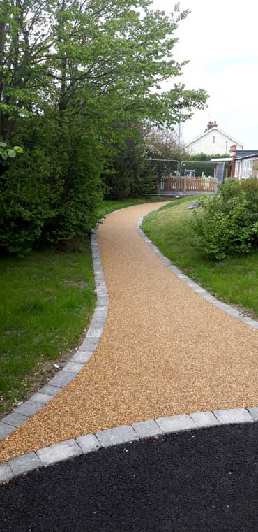 Resin Pathways in great yarmouth safety surface