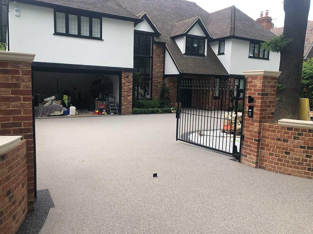 resin driveways Essex