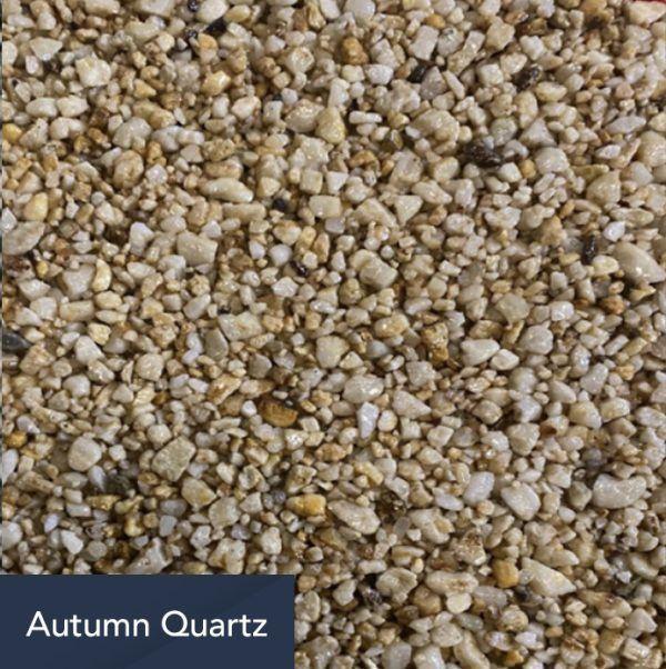 autumn quartz aggregate