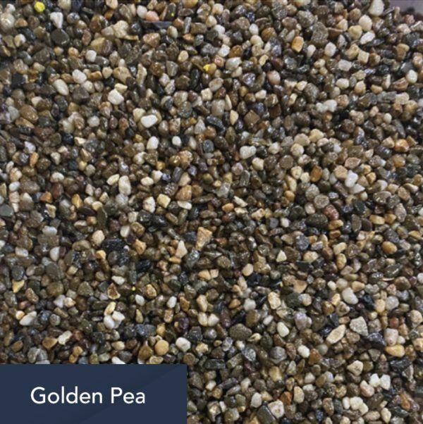 golden pea aggregate