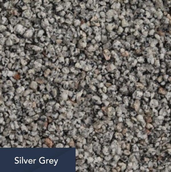 silver grey aggregate