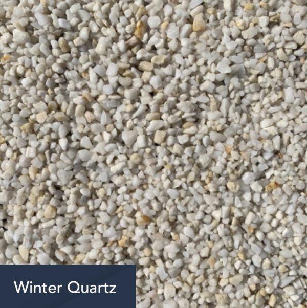 winter quartz aggregate