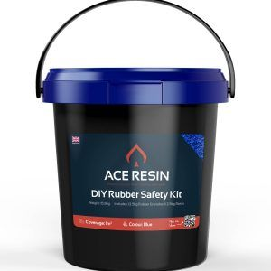 DIY Rubber Resin Safety Kit in Blue
