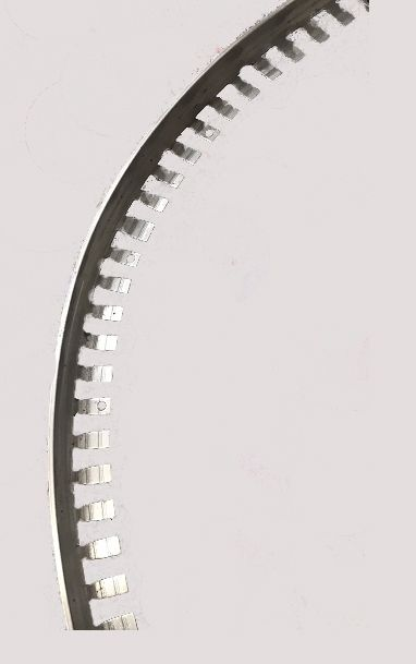 Flexible Metal trim for resin surface