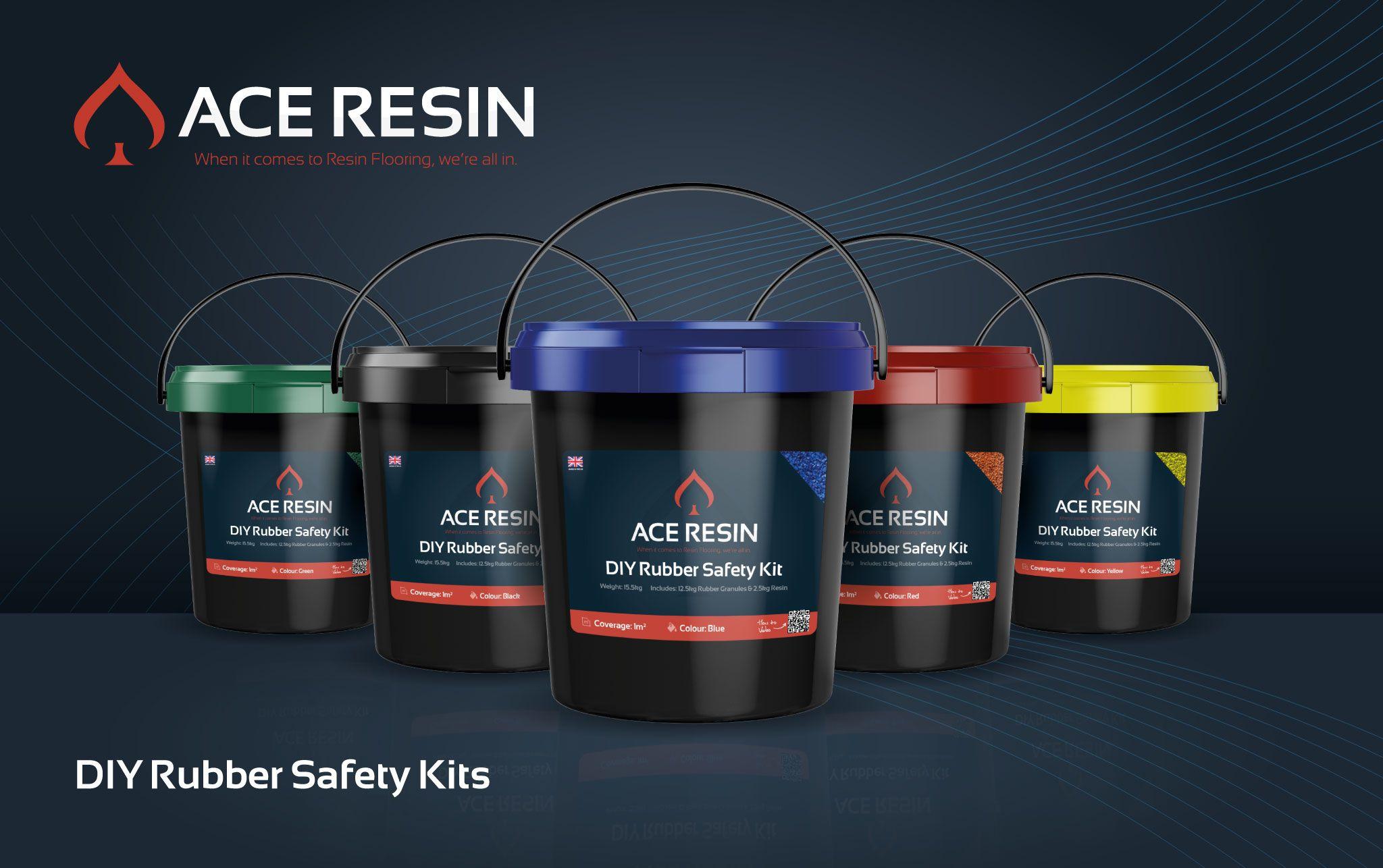 DIY Rubber Resin Safety Surfacing Kit